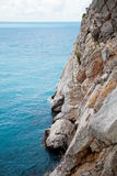 Vagga vid havet Krim Royaltyfria Foton