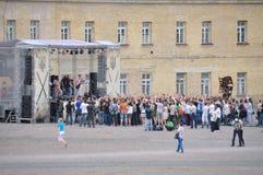 Vaggafestivalen i Ukraina Royaltyfri Foto