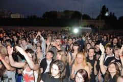Vaggafestivalen i Ukraina Royaltyfria Bilder