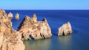 Vaggar av Algarven Arkivbild