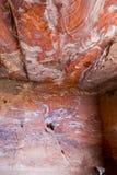 Vaggar av Petra, Jordanien Royaltyfri Foto