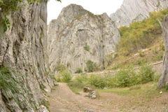 Vaggar dörrarna nära den Wraza Bulgarien Arkivfoto