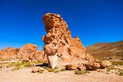 Vaggar dalen, Bolivia Royaltyfria Bilder