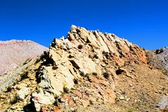 Vaggar den nationella monumentet för dinosaurien arkivbilder