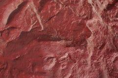 Vaggar den röda väggen Royaltyfria Bilder