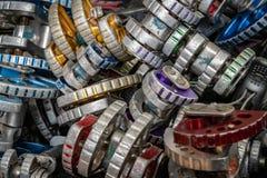 'Vaggar den standarda kuggen 'klättringkugghjulet fotografering för bildbyråer