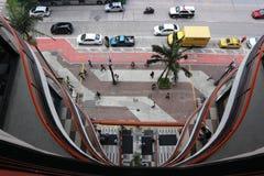 ` Vaggar galleri`, São Paulo Brazil royaltyfri foto