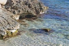vaggar havet Royaltyfri Fotografi