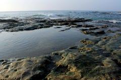vaggar havet Arkivbild