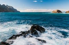 Vaggar i havet Arkivfoton