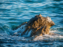 Vaggar i havet, Kroatien Arkivbild