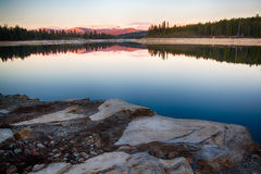 Vaggar i sjön Arkivfoto