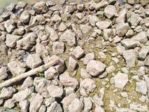 vaggar och haveriet, efter vattnet av floden ner arkivbild