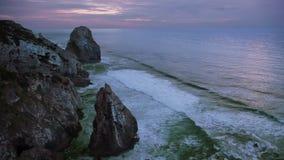 Vaggar och havet arkivfilmer