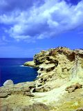 Vaggar och havskusten royaltyfri fotografi