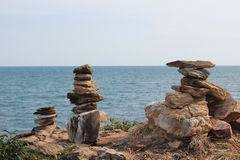 Vaggar och stenar Royaltyfri Foto