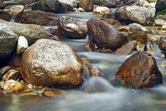 Vaggar och stenar Fotografering för Bildbyråer