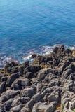 Vaggar och stranden i Cascais Arkivfoton