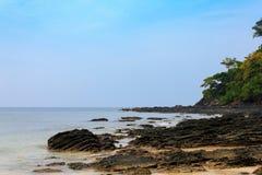 Vaggar på stranden Arkivbilder