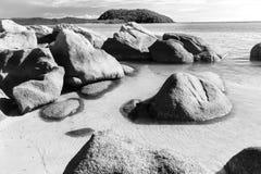 Vaggar på stranden royaltyfri bild