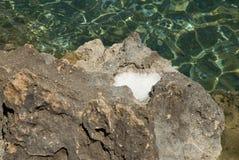 vaggar salt Royaltyfria Bilder