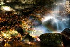 vaggar vattenfallet Royaltyfria Foton