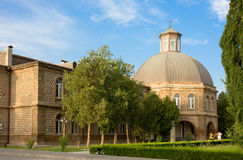 VAGHARSHAPAT, ARMENIA-JUNE, 24, 2012: A teológico Foto de Stock