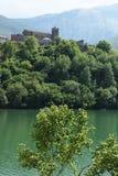 Vagli di Sotto, Garfagnana, Lucca, Toscana L'Italia fotografia stock