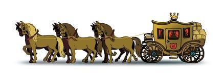 vagn vektor illustrationer