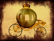 vagn cinderella Royaltyfri Foto