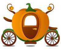 vagn cinderella s Royaltyfri Foto