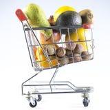 vagn frambragd shopping för bild 3d Royaltyfri Bild