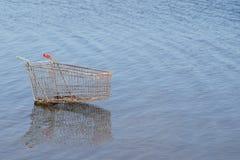 vagn frambragd shopping för bild 3d Arkivbilder
