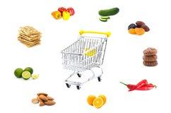vagn frambragd shopping för bild 3d Fotografering för Bildbyråer