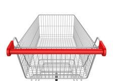 vagn isolerad shopping royaltyfri illustrationer