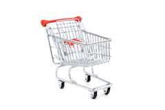 vagn isolerad shopping Royaltyfri Bild