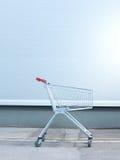 vagn isolerad shopping Royaltyfri Fotografi