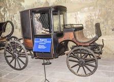Vagn - mitt av det 19th århundradet Arkivfoto