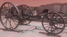 Vagn Spanien för LaMola Menorca morter Royaltyfri Fotografi