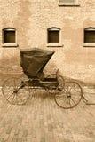 vagn tecknad häst Royaltyfria Foton