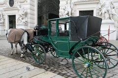 Vagn vid vienna Royaltyfria Bilder