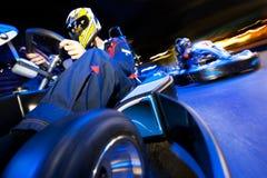 vagnen går racen Fotografering för Bildbyråer
