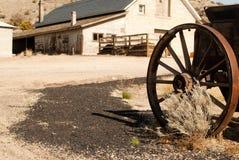 vagnhjul Arkivfoto