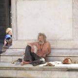Vago en el centro de Florencia Fotografía de archivo