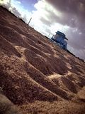 Vago POV de la playa Imágenes de archivo libres de regalías