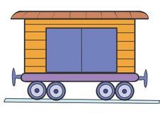 Vagone illustrazione di stock
