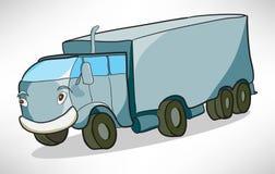 Vagone allegro del camion del fumetto Immagini Stock