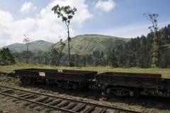 Vagone commerciale del treno Ella, Sri Lanka Fotografie Stock Libere da Diritti