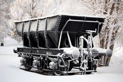 Vagone del minerale ferroso Fotografia Stock
