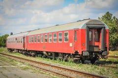 Vagone del treno Fotografia Stock